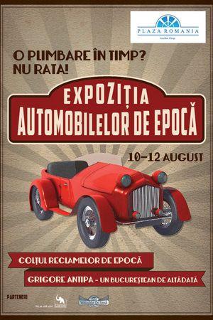 EVENIMENT: Masini de epoca, reclame vechi si expozitie de fotografie in Plaza Romania