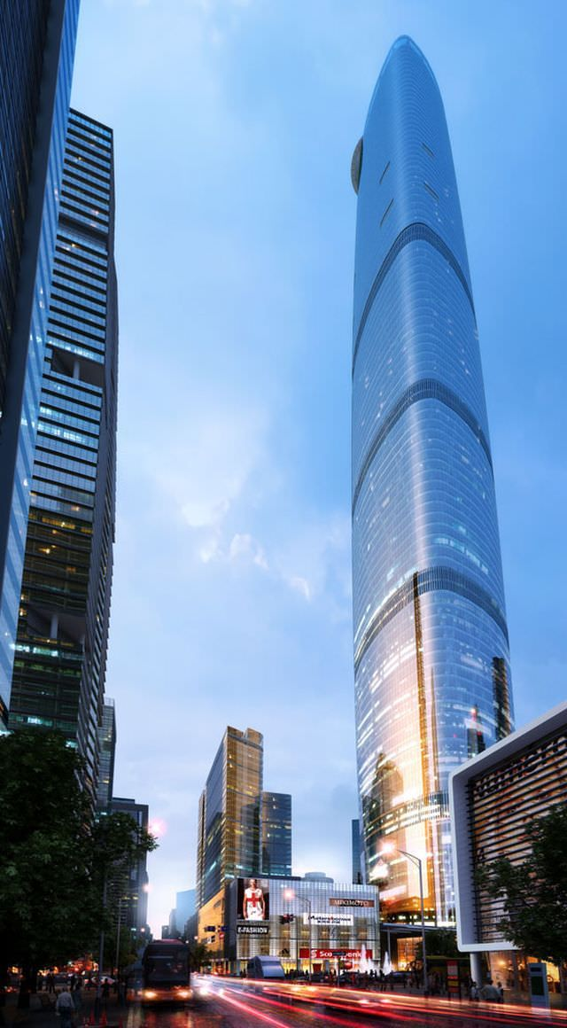 1Guangzhou International Finance Center