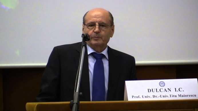 Prof. Dumitru Constantin Dulcan 1
