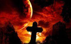 Primul semn al Apocalipsei! Va veni grindina si foc amestecat cu sange!