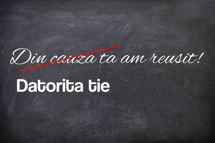 Cele mai frecvente greseli gramaticale! Vezi cum stai cu limba romana!